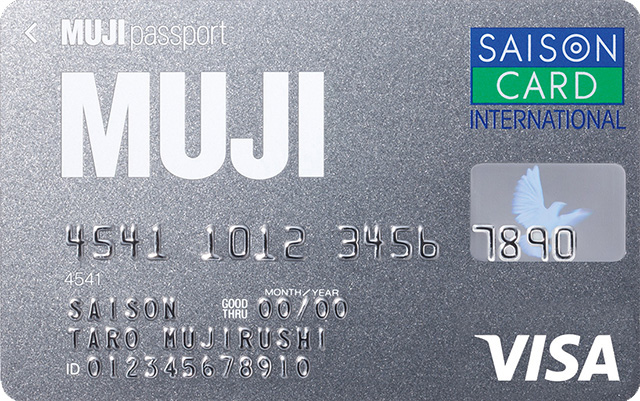 MUJI Card Visa
